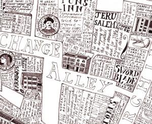 coffee map by Helen Cann