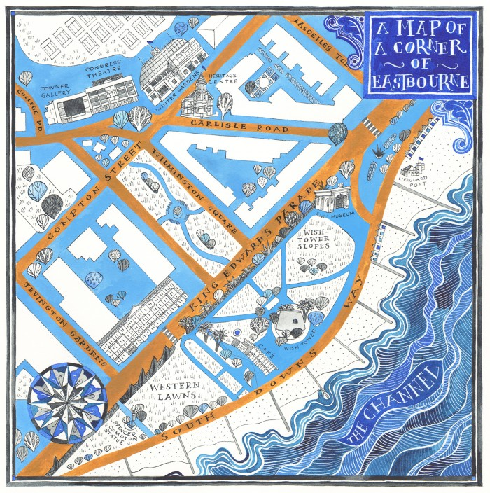 Hand drawn maps Archives - Helen Cann