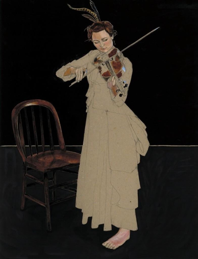 Fiddler by Helen Cann