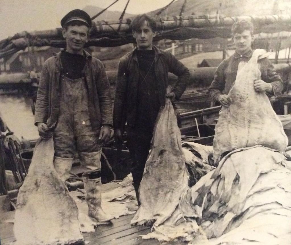 Faeroese fishermen
