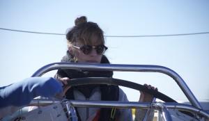 Steering Seadragon - a look of pure terror....